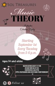 Music Theory Workshop @ Zoom