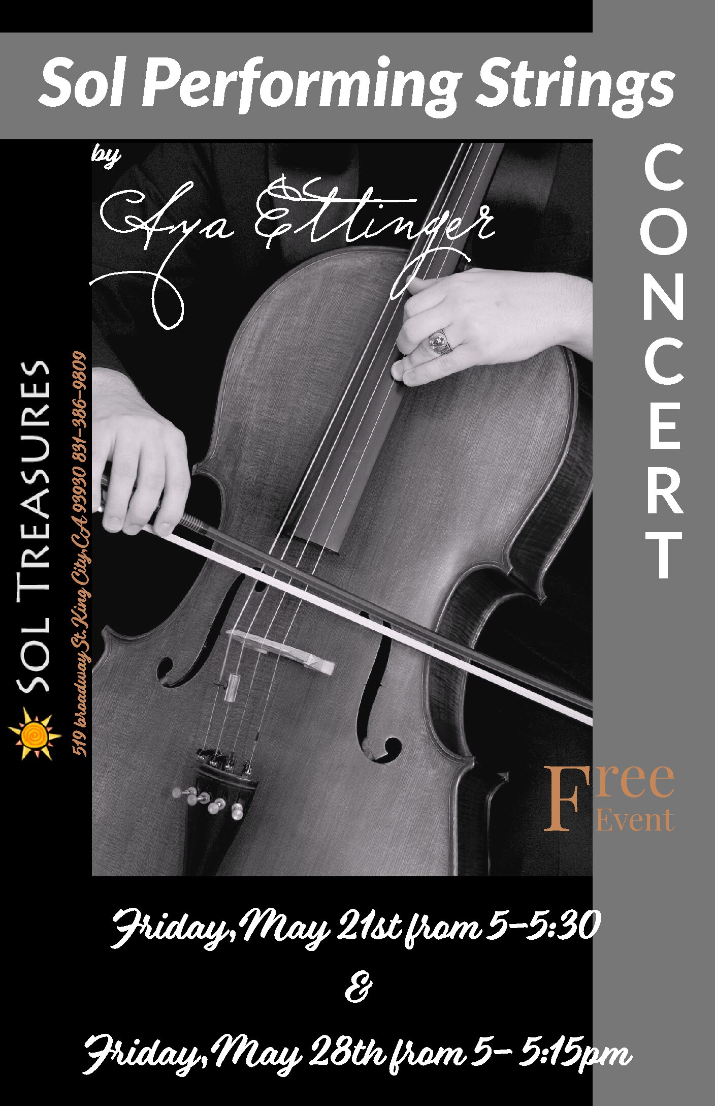 Sol Performing Strings Concert