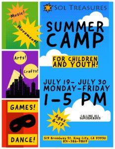 Peaceful Samurai Summer Camp! @ Sol Treasures