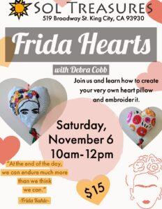 Frida Hearts @ Sol Treasures
